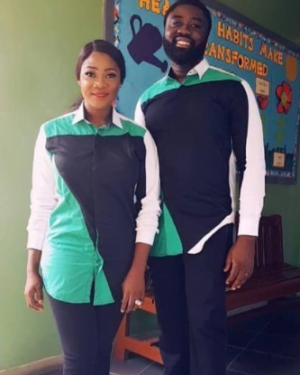 Check Out These Loved-Up Photos Of Mercy Johnson And Her Husband In Matching Outfits 4
