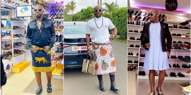 """""""My daughter is begging me to stop wearing skirt""""- Osebo (video) 1"""