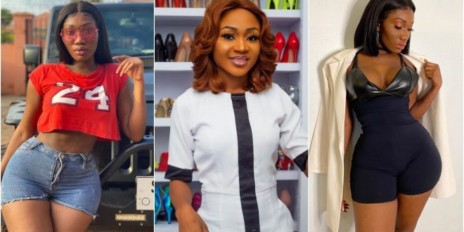 'Stop Working On Your Body And Release A Hit Song' - Akuapem Poloo Jabs Wendy Shay 1