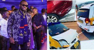 Actor Prince David Osei Survives A Very Fatal Accident - Photos 16