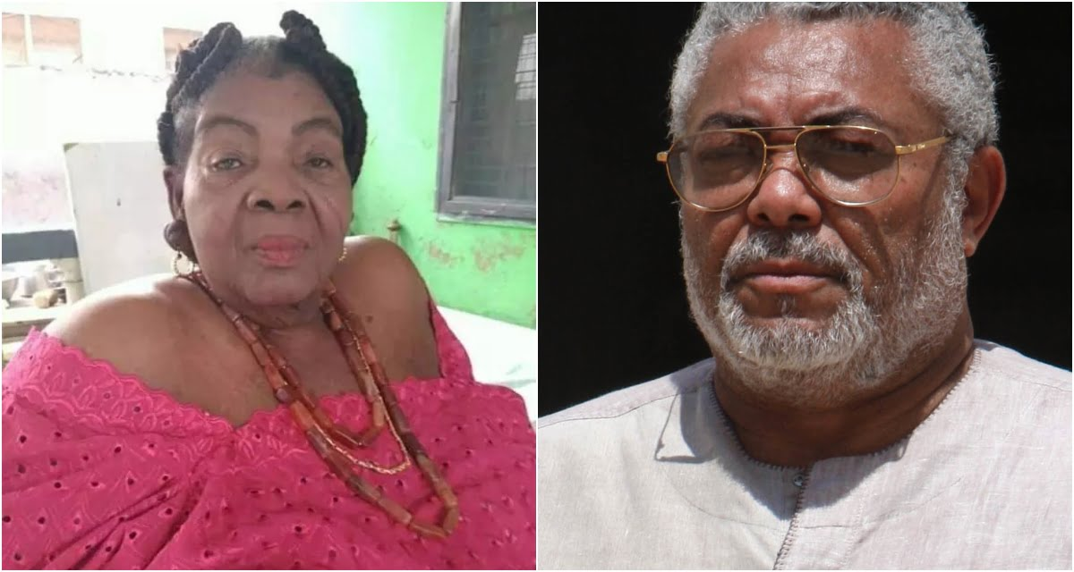 Meet the 100-year mother of J.J.Rawlings - Buzzgh