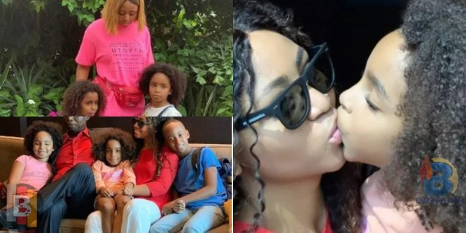 See How Regina Daniels Takes Care Of Her Step-children In 10 Lovely Photos 1