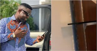 See what the Wednesday night earth tremors did to Sarkodie's room (video) 12