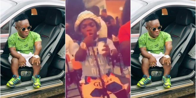 Money Still Dey! Shatta Bundle In A Whole Mood: Chills In An Expensive Club - Video 1