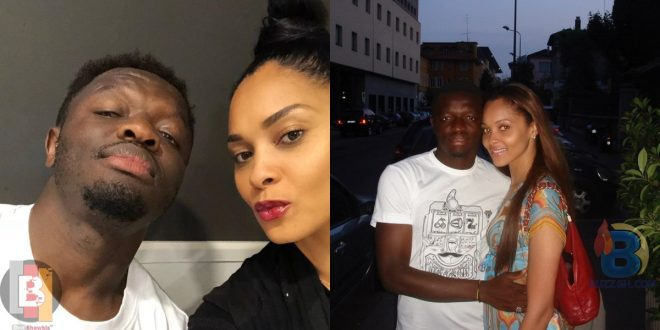 Check out cute photos of Sulley Muntari and wife, Menaye 1