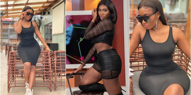 Check out the savage reply from Wendy Shay to the female presenter who hit on her relationship rumor with Bullet. 1