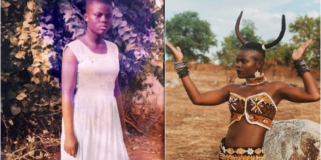 """""""How Come You Look So Rigid Now"""" - Fans React After Throwback Photo Of Wiyaala Popped Up 1"""