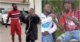 Adebayor finally unfollows Funny Face on social media for disrespecting him 67