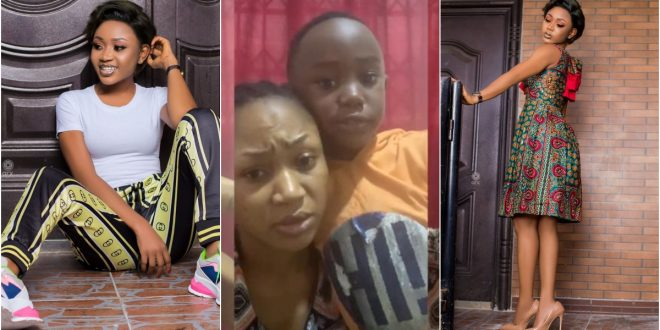 Akuapem Poloo's Son Pleads With Ghanaians To Forgive His Mom Over Nude Photos – Video 1