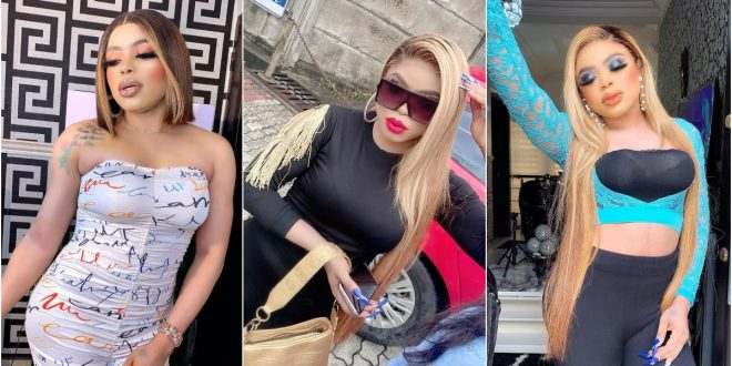 """Handsome Broke Guys With 6-packs are Very Stupid"" - Bobrisky Claims (Screenshot) 1"