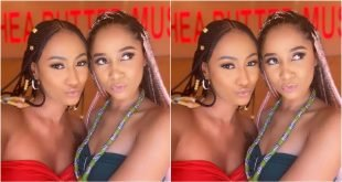 Fans Get Confused As Hajia4Real And Sister Derby Perfectly Twins Up In New Photo - Check Out 37