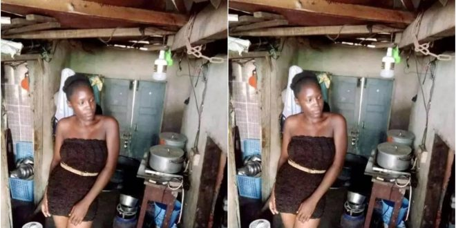 'I Don't Want To Live Fake Life' - Says A Slay Queen As She Drops Photos Of Here She Lives 1