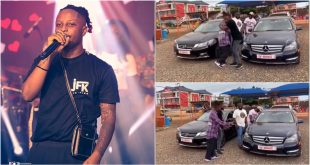 Kelvyn Boy Acquires Two Cars, New Benz And A Honda For His Boys - Video 69