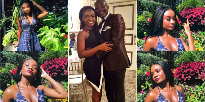 Kennedy Agyapong's Prodigal Daughter Drops Seductive Photos To Mark Her Birthday 1