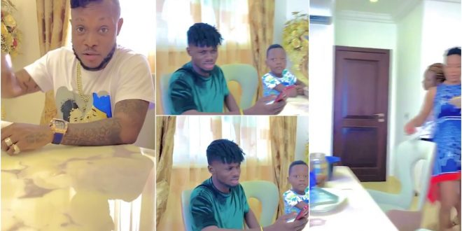Video of Kuami Eugene spending time with Joana Gyan and Keche surfaces online. 1