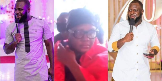 Late Kwadwo Wiafe's Mum Weeps Sorrowfully As She Buries Her Only Child Today 1