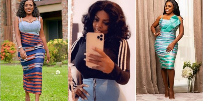 """It's For Your Father"" - Nana Aba Anamoah Angrily Insults A Fan Who Asked Of Her iPhone (Screenshots) 1"