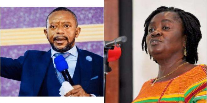 Reverend Owusu Bempah Says John Mahama's Running Mate, Professor Jane Opoku-Agyemang, Will Die After 2020 Election - Video 1