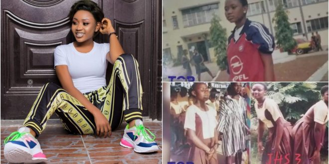 School Time Photos Of Akuapem Poloo Hits Online - Check Out 1