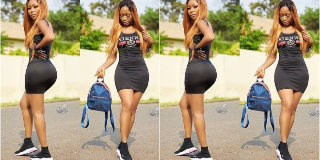 Allegedly: Akuapem Poloo  To Appear Before Court Today Over Her Nude Photo With Her Son 1