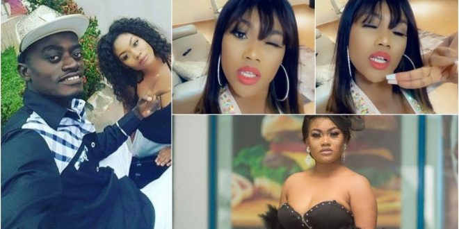 Lil win's girlfriend Sandra ababio sings songs of praises for how far God has brought her (video) 1