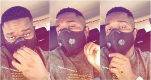 Sarkodie finally goes home with a 'Sub Zero' swag after 14 days in quarantine - Video 11