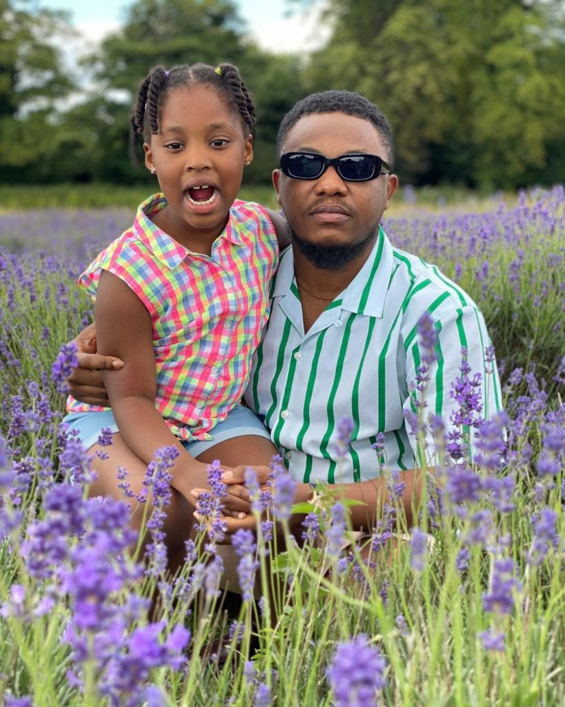 Yolo Actor, King George Shared Lovely Moment With His Beautiful Daughter 2