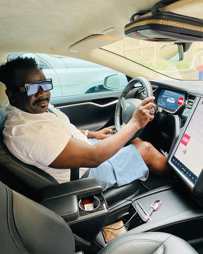 Koo Fori flaunts New Manson and luxery Cars In America 7