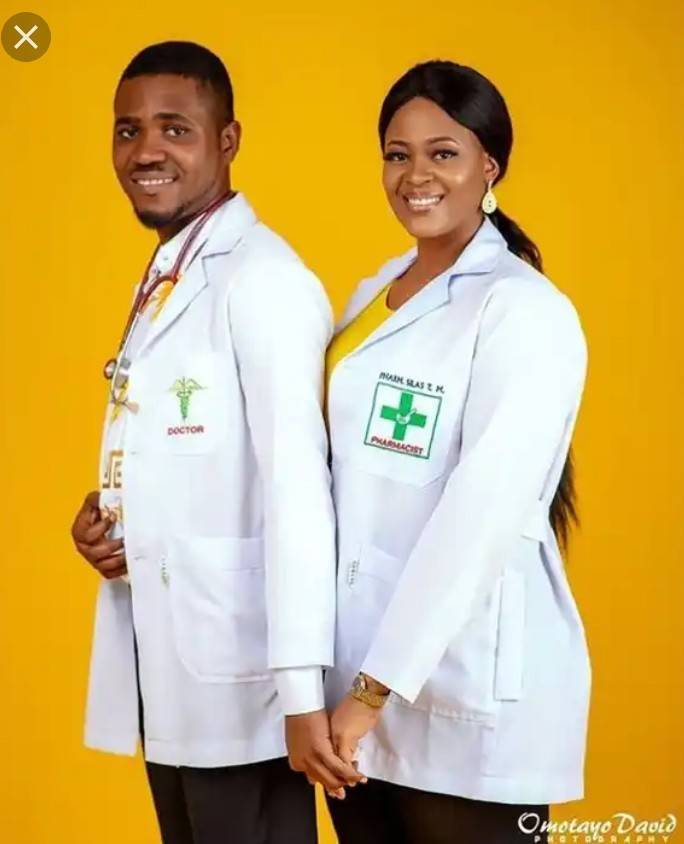 Check Out These 10 Classy Pre-wedding Photos Of Medical Doctors 3