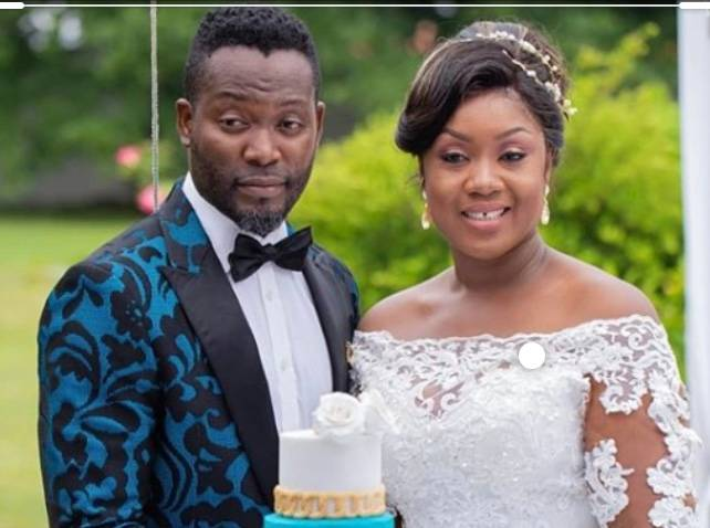 Adjetey Anang crushes on his wife in a new exclusive photo 3