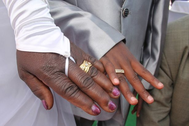 See Throwback Wedding Photos Of The 9-Year-old Boy Who Married A 62 Years Old Woman 3