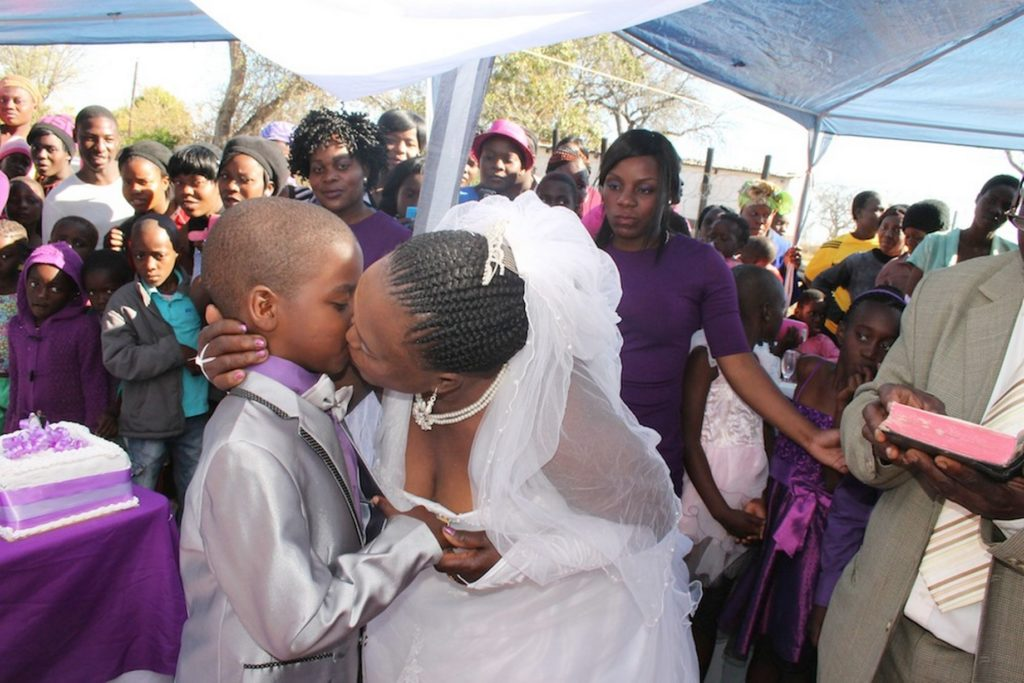 9-year-old boy marries 62-year-old woman