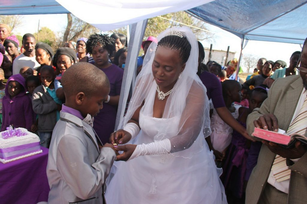 See Throwback Wedding Photos Of The 9-Year-old Boy Who Married A 62 Years Old Woman 2