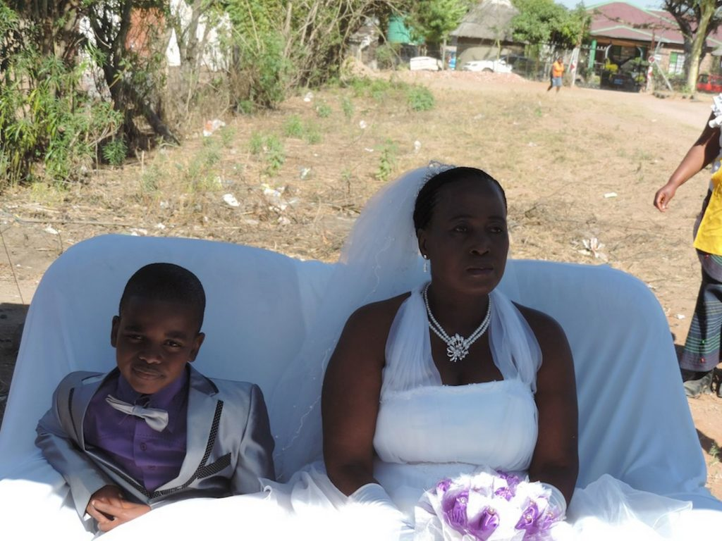See Throwback Wedding Photos Of The 9-Year-old Boy Who Married A 62 Years Old Woman 4