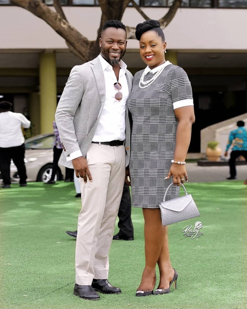 Adjetey Anang crushes on his wife in a new exclusive photo 4