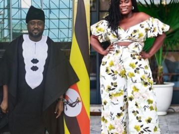 Desmond Elliott and Lydia Forson
