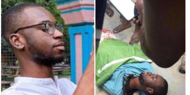 Nigeria guy shot to death 3 hours after saying 'Nigeria will not end him' 1