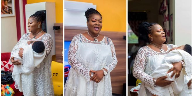 Mercy Asiedu Has Not Given Birth; Flaunted Someone's Baby initially sources reveal 1