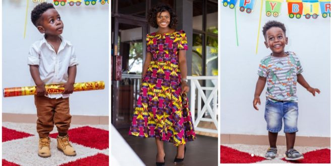 Martha Ankomah shares stunning photos of her 2-year-old son on his birthday 1