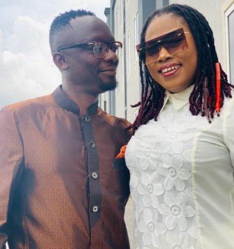 Joyce Blessing and P.O Kwabena Donkor