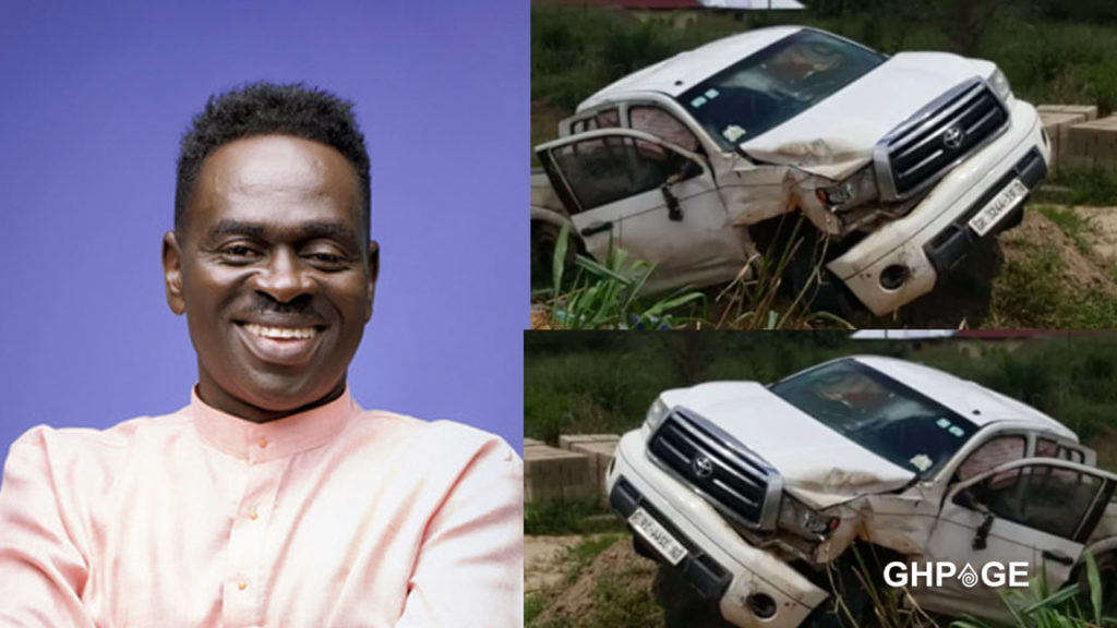 Yaw Sarpong escape fatal accident