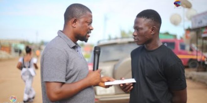 Abdallah who was jailed 25 years for stealing ¢10 receives donations through SVTV 1