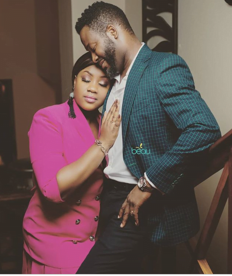 Adjetey Anang crushes on his wife in a new exclusive photo 2