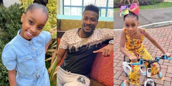 Asamoah Gyan's Daughter Sings Diana Hamilton's New Adom Song Word For Word 1