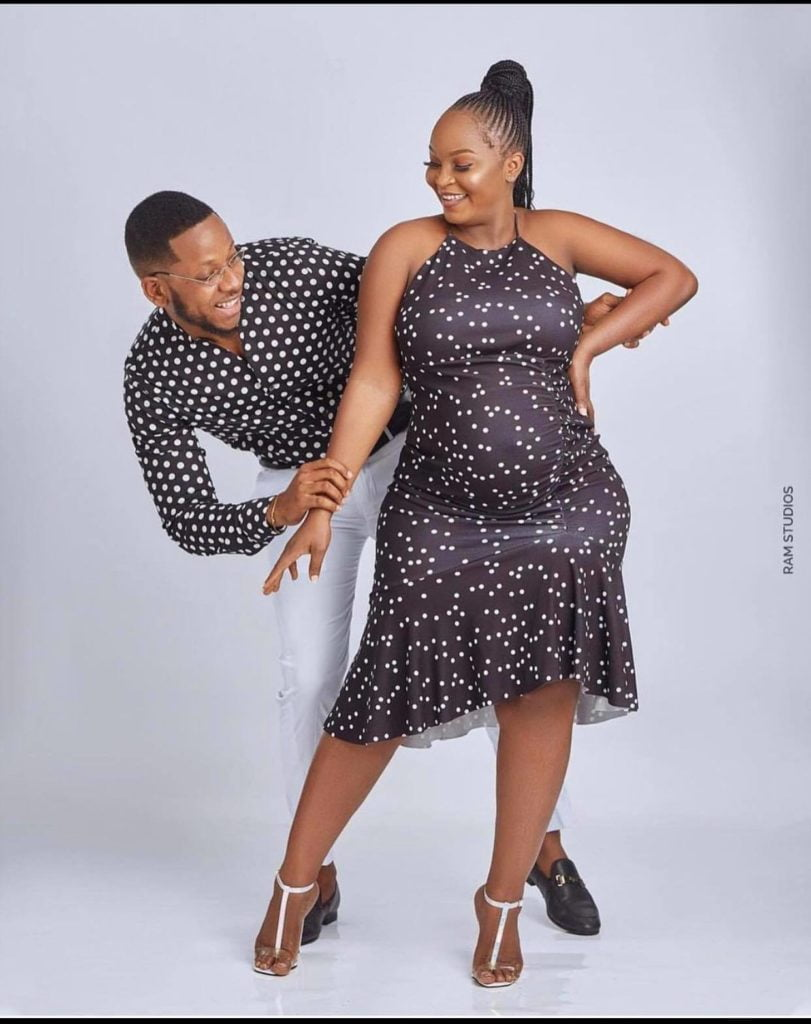 lovely Baby bump photos of Adatsi Aaron's baby mama, Eyram   check out 3