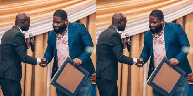 Dr. UN And D-Black All Hugs And Smiles After He Finally Apologized For Fooling Him - VIDEO 1