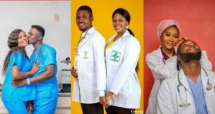 Check Out These 10 Classy Pre-wedding Photos Of Medical Doctors 25