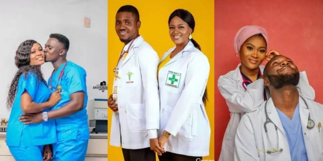 Check Out These 10 Classy Pre-wedding Photos Of Medical Doctors 1