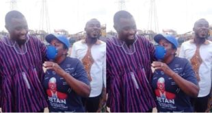 John Dumelo meets Madam Lydia Alhassan; it was all fun and love 8
