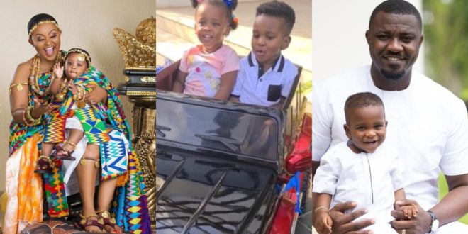 Baby Maxin Joins Dumelo Jnr To Celebrate His 2nd Birthday 1
